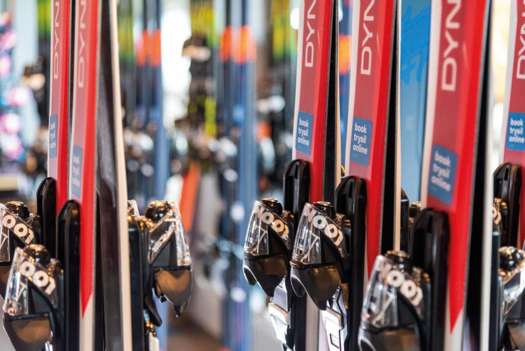Bilde av ski til utleie på bookTrysilonline