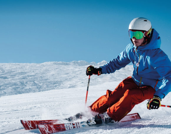 Man skiing in Trysil