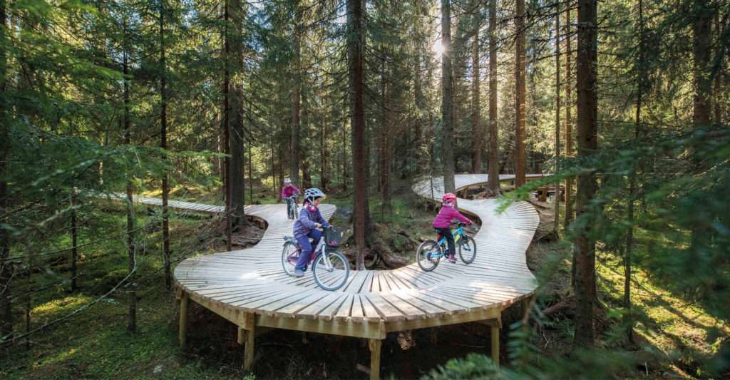 Gullia in Trysil - a large area with 20 km of well-designed cycle paths, from green to black - bookTrysilonline