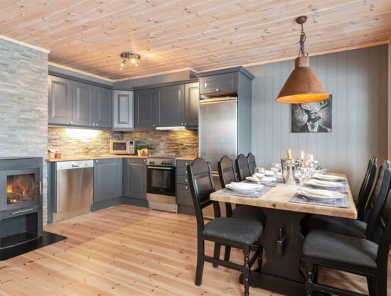 kitchen, dining area, apartment to rent in Trysil, Panorama 755A