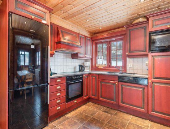 kjøkken, leilighet i Trysil til leie, Lisetra 716A