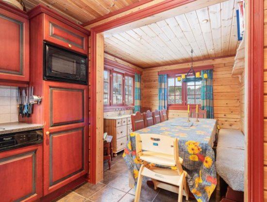 kjøkken og stue, leilighet i Trysil til leie, Lisetra 716A