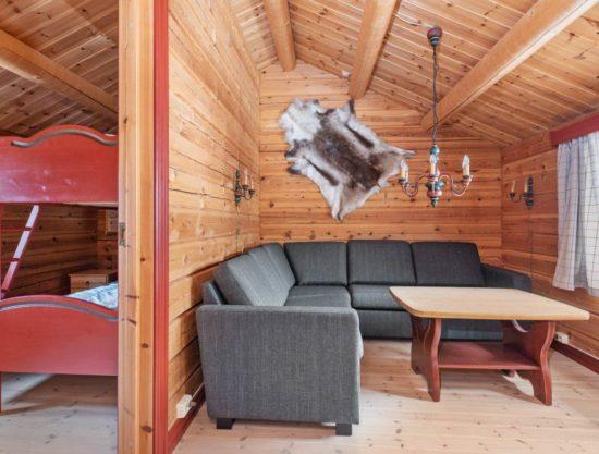 stue og soverom, leilighet i Trysil til leie, Lisetra 716A