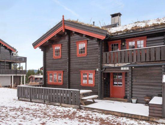 fasade, leilighet i Trysil til leie, Lisetra 716A