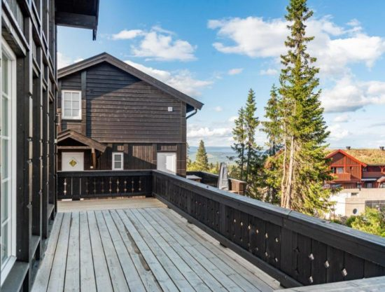 outside porch, cabin to rent in Trysil, Skurufjellet 1101D