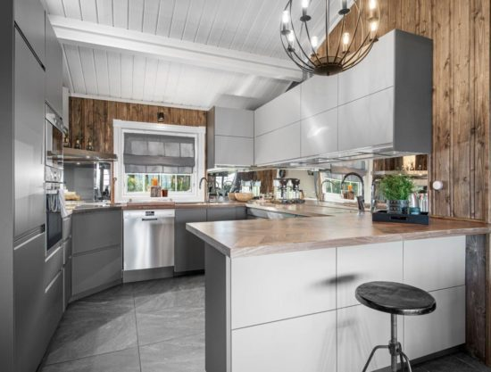 kitchen, cabin to rent in Trysil, Hytte 589