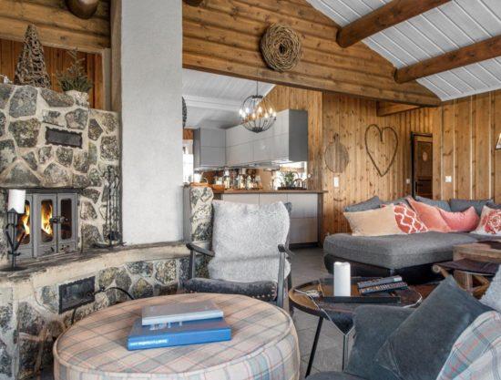big livingroom, cabin to rent in Trysil, Hytte 589