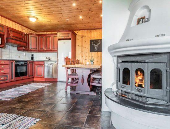 peis og kjøkken, leilighet i Trysil til leie, Litunet 721F