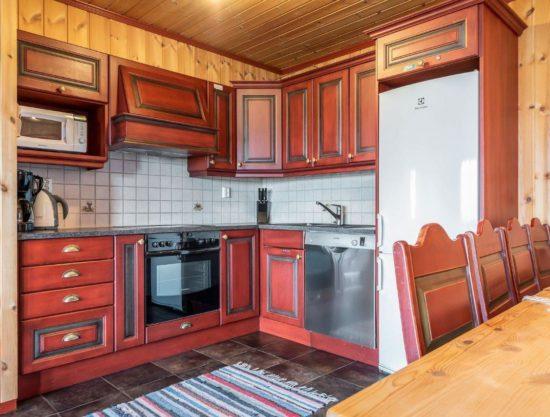 kjøkken, leilighet i Trysil til leie, Litunet 721F