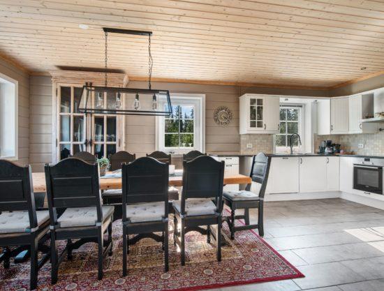 Bilde av kjøkken og spiseplass, hytte i Trysil, Håvi 868
