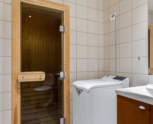 bathroom with sauna, apartment to rent in Trysil, Trysil Høyfjellsgrend 14