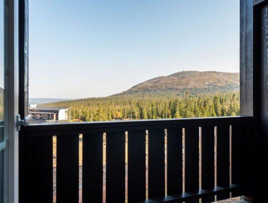 utsikt, leilighet i Trysil til leie, Trysil Høyfjellsgrend 14
