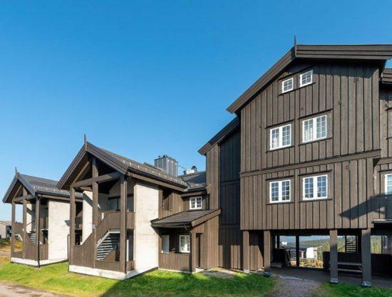 fasade, leilighet i Trysil til leie, Trysil Høyfjellsgrend 14