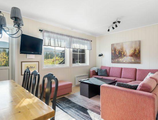 stue, leilighet i Trysil til leie, Utsikten 787A