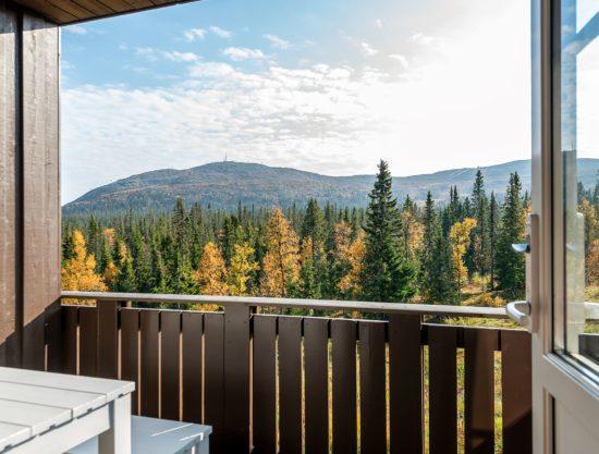 veranda med utsikt, leilighet i Trysil til leie, Utsikten 787A