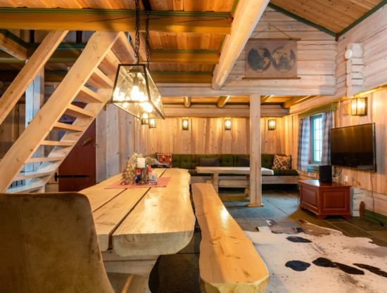 eating area and livingroom, cabin to rent in Trysil, Fageråsen 366C