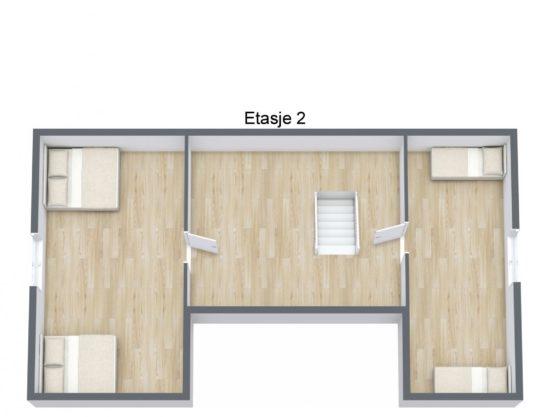 Bilde av plantegning 2 - Fageråsen 366C - Lei hytte i Trysil