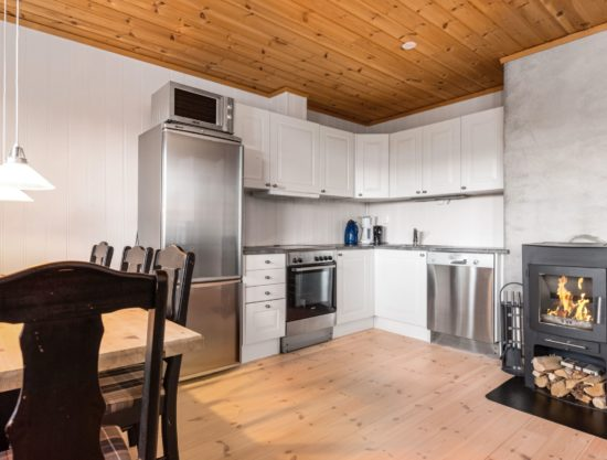 kjøkken, leilighet i Trysil til leie, Panorama 755A