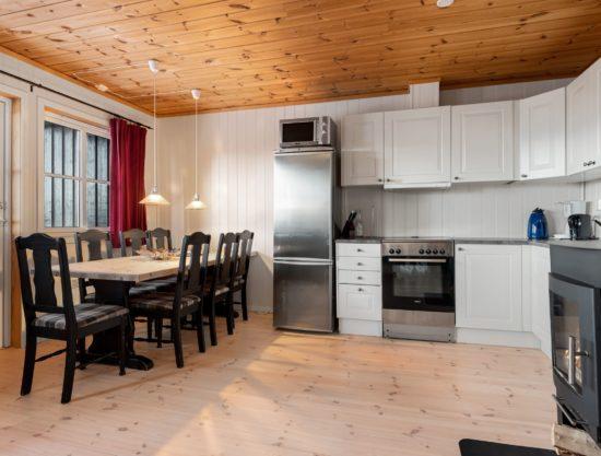 kjøkken og spisebrod, leilighet i Trysil til leie, Panorama 755A