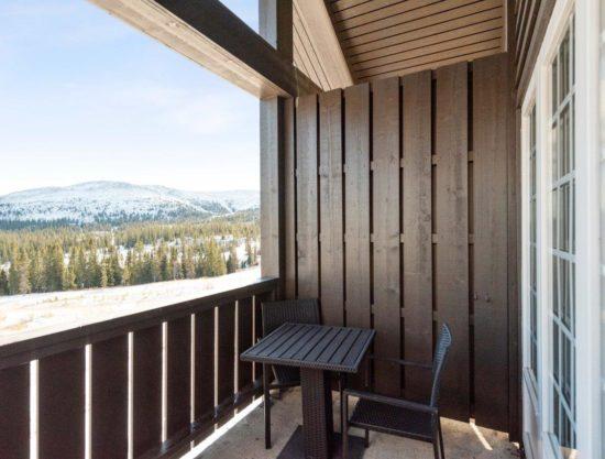 veranda, leilighet i Trysil til leie, Trysil Høyfjellsgrend 50