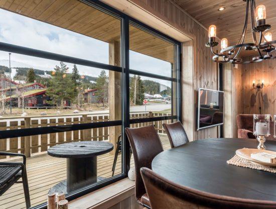 kjøkken og balkong, leilighet til leie i Trysil, Trysiltunet 14A