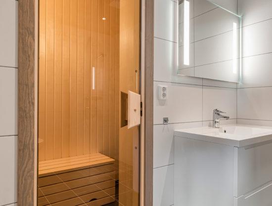 bad og badstue, leilighet til leie i Trysil, Trysiltunet 20B