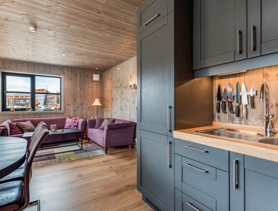 kjøkken og stue, leilighet til leie i Trysil, Trysiltunet 14A