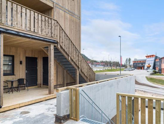 fasade, leilighet til leie i Trysil, Trysiltunet 16A