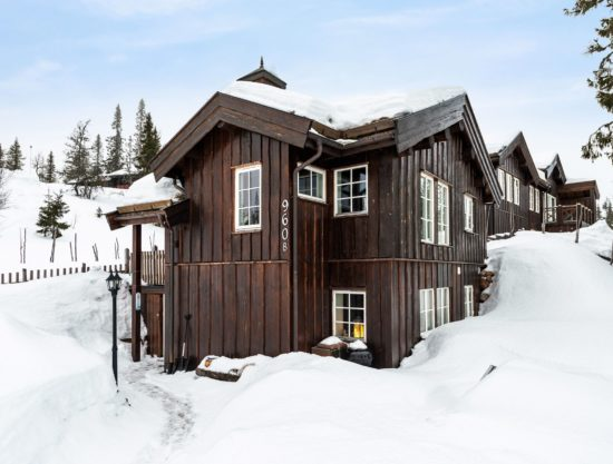 outside, cabin to rent in Trysil, Ugla 960B
