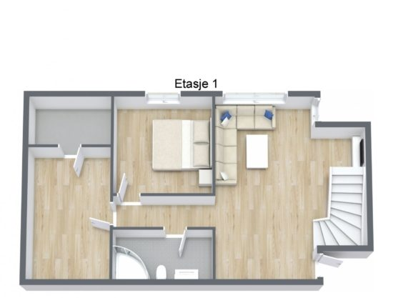 floor plan, cabin to rent in Trysil, Ugla 960B