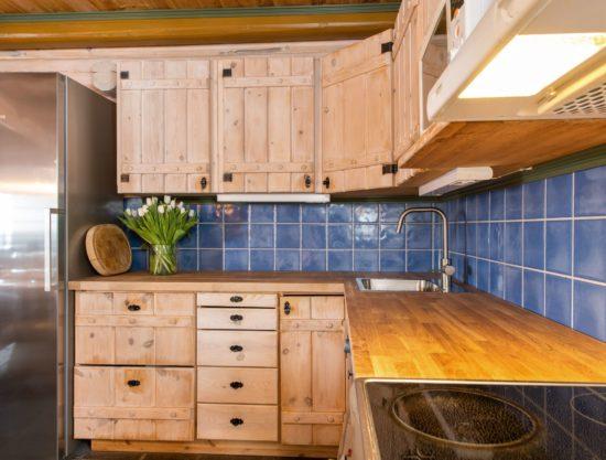 Bilde av kjøkken - Fageråsen 366C - Lei hytte i Trysil
