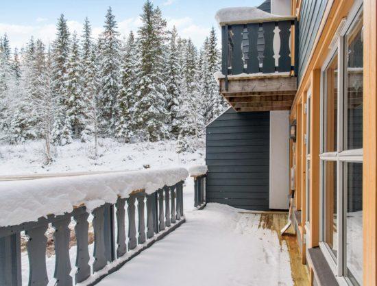 Bilde av balkong - Lei leilighet i Trysil - Bakkebygrenda 17A