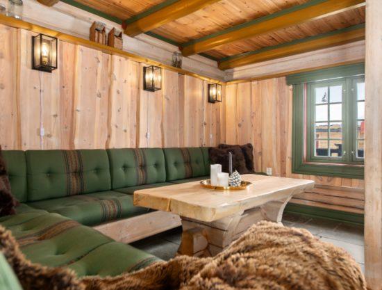 Bilde av stue - Fageråsen 366C - Lei hytte i Trysil