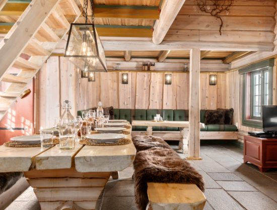 eating area, big table, cabin to rent in Trysil, Fageråsen 366C