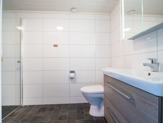 bathroom with sauna, apartment to rent in Trysil, TrysilAlpin438b