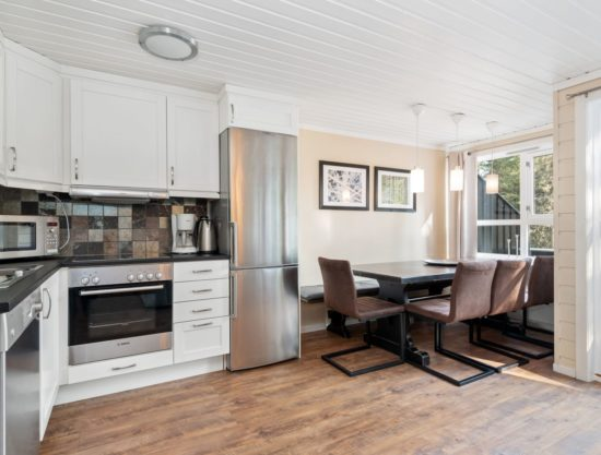 kitchen and dining area, apartment to rent in Trysil, TrysilAlpin438b
