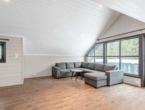Bilde av stue og sofa - Lei leilighet i Trysil - Bakkebygrenda 17A