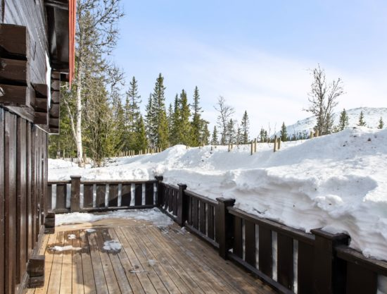 Bilde av terrasse - Fageråsen 366C - Lei hytte i Trysil
