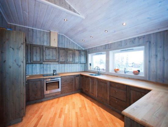kjøkken, hytte i Trysil til leie, Ugla 982
