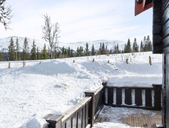 Bilde av terrasse2 - Fageråsen 366C - Lei hytte i Trysil