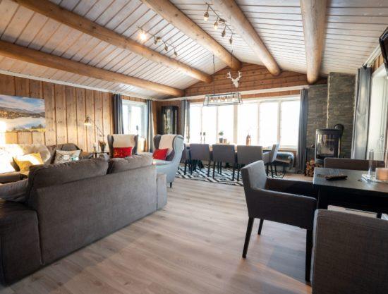 stue - Hytte 616- Lei hytte i Trysil