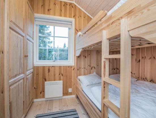 Bilde av soverom køyeseng - Fagerhøy 1181- Lei hytte i Trysil