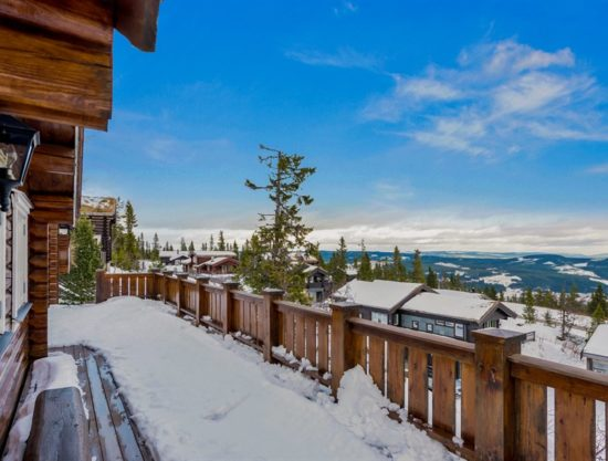 outside porch, cabin to rent in Trysil, Ugla 969