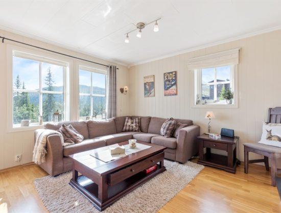 stue, leilighet i Trysil til leie, Utsikten 771C