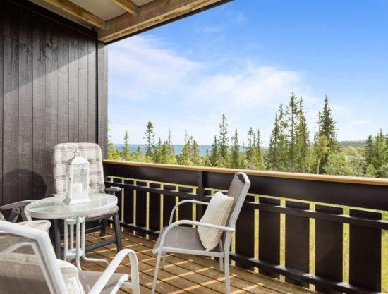 veranda, leilighet i Trysil til leie, Utsikten 771C