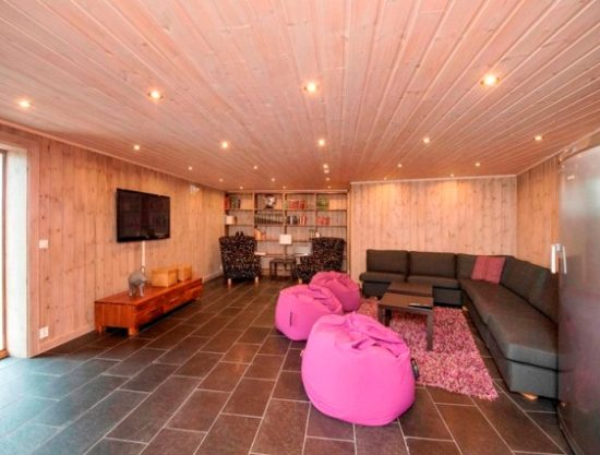 living room evening, cabin to rent in Trysil, Ugla 982