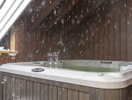 boblebad ute, leilighet til leie i Trysil, Knettlia 749D