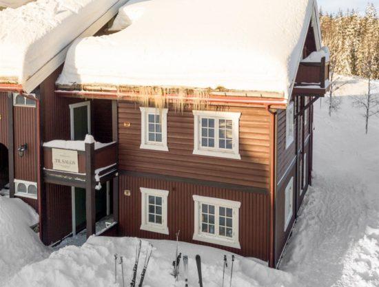 fasade ute, leilighet til leie i Trysil, Knettlia 749D