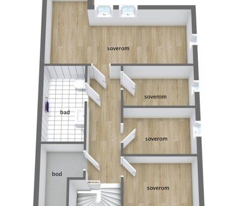 floor plan, cabin to rent in Trysil, Ugla 982