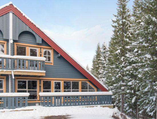 Bilde av fasade - Lei leilighet i Trysil - Bakkebygrenda 17A
